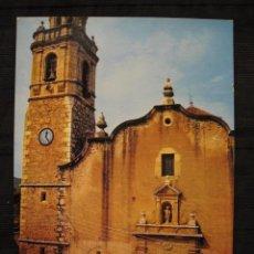Postales: POSTAL SAN JORGE ( CASTELLON ) - IGLESIA PARROQUIAL.. Lote 93243180