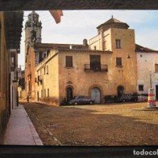 Postales: POSTAL SAN JORGE ( CASTELLON ) - PLAZA DEL CAUDILLO Y CALLE DE LA IGLESIA.. Lote 93257180