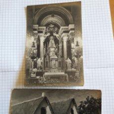 Postales: LOTE 2 POSTALES VALENCIA 1952. Lote 94382522
