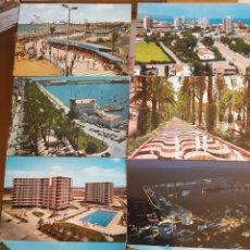 Postales: LOTE 8 POSTALES ALICANTE AÑOS 70. Lote 94382919