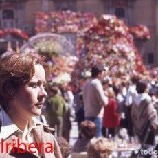 Postales: DIAPOSITIVA ESPAÑA VALENCIA PLAZA VIRGEN 1977 AGFACOLOR 35MM SLIDE SPAIN PHOTO FOTO DESAMPARADOS. Lote 95069791