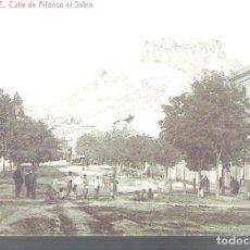 Postales: ALICANTE Y PUEBLOS DE LA PROVINCIA.LOTE DE 10 POSTALES MUY ANTIGUAS.REIMPRESIONES.. Lote 95148403