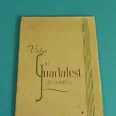 Postales: VISTAS DE GUADALEST (ALICANTE), MONUMENTO NACIONAL. CARPETA CON 12 POSTALES. Lote 95431759