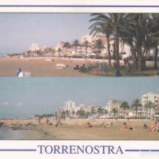 Postais: POSTAL PASEO Y PLAYA TORRENOSTRA. TORREBLANCA. CASTELLON. Lote 95776419