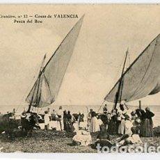 Postales: VALENCIA PESCA DEL BOU EDICION L. CRUMIÈRE Nº 13. SIN CIRCULAR. Lote 95822247