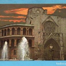 Postales: POSTAL DE VALENCIA CATEDRAL Nº 55 EDITÓ CARRETERO SIN CIRCULAR. Lote 96009955