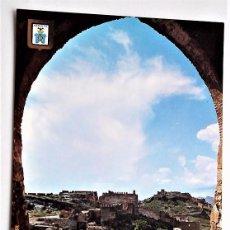 Postales: SAGUNTO (VALENCIA). 2 VISTA PARCIAL DEL CASTILLO DESDE LA PUERTA DE ALMENARA. SUBIRATS CASANOVAS. NU. Lote 96103503