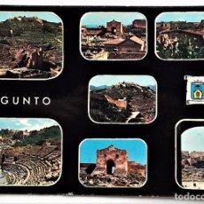 Postales: SAGUNTO (VALENCIA). 3481 VISTAS VARIAS. ED. PERGAMINO. USADA CON SELLO.. Lote 96103551