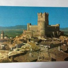 Postales: POSTAL. VILLENA (ALICANTE). EL CASTILLO. H. 1970?. Lote 96103575
