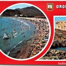 Postales: OROPESA (CASTELLÓN). 104 DIVERSOS ASPECTOS. COMAS ALDEA. NUEVA. Lote 96106211