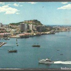 Postales: 56 - DENIA (ALICANTE) VISTA AEREA DEL PUERTO - S. CASANOVAS 1972 -. Lote 96107427