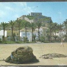 Postales: 23 - DENIA (ALICANTE) EL CASTILLO DESDE EL PUERTO - S. CASANOVAS 1969 -. Lote 96107747