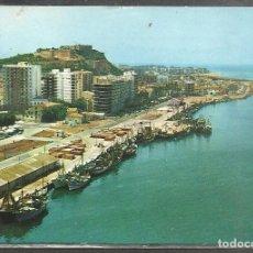 Postales: 65 - DENIA (ALICANTE) VISTA AEREA DEL PUERTO - S. CASANOVAS 1972 -. Lote 96107907