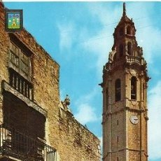 Postales: ALCALÀ DE XIVERT - 2 TORRE DEL CAMPANARIO. Lote 96115571