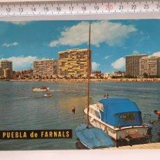 Postales: PUEBLA DE FARNALS (VALENCIA). VISTA PANORÁMICA. GARCIA GARRABELA Y CIA.-ZARAGOZA. H. 1960?. Lote 96136271