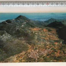 Postales: POSTAL. NÚM. VISTA AÉREA DE BARIG (VALENCIA) Y MONTE MONDUBER. FOTO PAISAJES ESPAÑOLES. SIN CIRCULAR. Lote 96156348