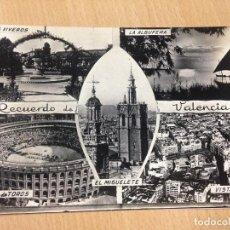 Postales: ANTIGUA POSTAL RECUERDO DE VALENCIA JDP 1958. Lote 96532371