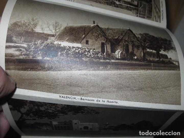 Postales: LIBRO ALBUM DE 12 POSTALES ANTIGUAS VALENCIA HUECOGRABADO 2º SERIE CALLES - Foto 7 - 96645807