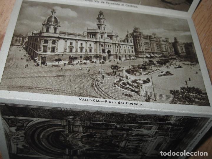 Postales: LIBRO ALBUM DE 12 POSTALES ANTIGUAS VALENCIA HUECOGRABADO 2º SERIE CALLES - Foto 8 - 96645807