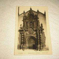 Postales: VINAROZ 8. PORTADA DE LA PARROQUIA . ED. ARRIBAS . SIN CIRCULAR. Lote 97499347