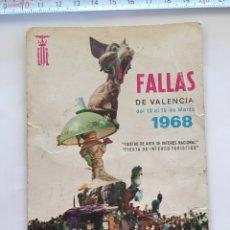 Postales: POSTAL. FALLAS DE VALENCIA. LITOGRAFÍA ORTEGA. AÑO 1967. Lote 97826747