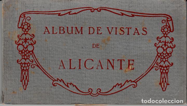 TACO -ALBUM VISTAS ALICANTE FOT.THOMAS CON 20 POSTALES ----OCASIÓN---- (Postales - España - Comunidad Valenciana Antigua (hasta 1939))