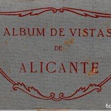 Postales: TACO -ALBUM VISTAS ALICANTE FOT.THOMAS CON 20 POSTALES ----OCASIÓN----. Lote 97990583