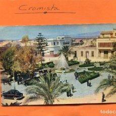 Postales: SANTA POLA - ALICANTE ( TAXI DE LA EPOCA ) -- CIRCULADA // ( NOV4 ). Lote 98055763