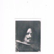 Postales: POSTAL ANTIGUA COMUNIDAD VALENCIANA SIN CIRCULAR VALENCIA MUSEO BELLAS ARTES AUTORRETRATO VELAZQUEZ. Lote 98083567