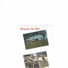 Postales: POSTAL ANTIGUA COMUNIDAD VALENCIANA SIN CIRCULAR CASTELLON OROPESA MUSEO AL AIRE LIBRE. Lote 98084667