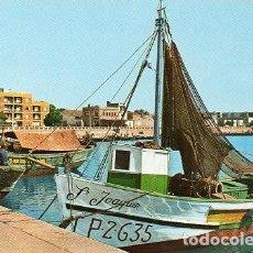Postales: BENICARLÓ - 3 VISTA PARCIAL DEL PUERTO. Lote 98388075