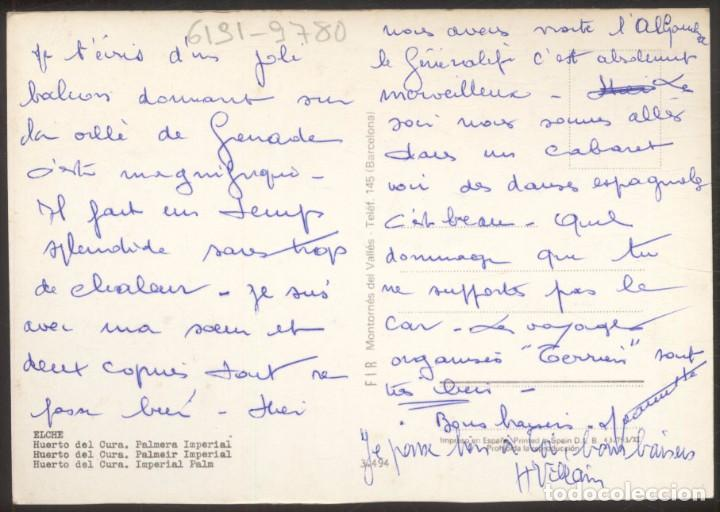 Postales: ELCHE.- Huerto del Cura. Palmera Imperial - Foto 2 - 98547631
