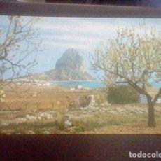 Postales: PEÑON IFACH CALPE ALICANTE ED ? Nº 3 S/C. Lote 98700915