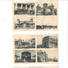 Postales: EXPOSICIÓN VALENCIANA. LOTE DE 9 POSTALES (C. 1910). Lote 98969399
