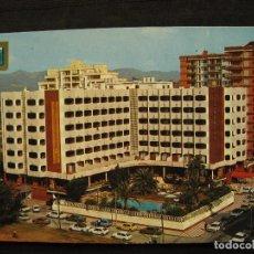 Postales: POSTAL GANDIA ( VALENCIA ) - PLAYA GANDIA - HOTEL LOS ROBLES.. Lote 99078271