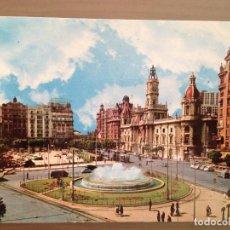 Postales: POSTAL VALENCIA PLAZA DEL CAUDILLO . Lote 99263803