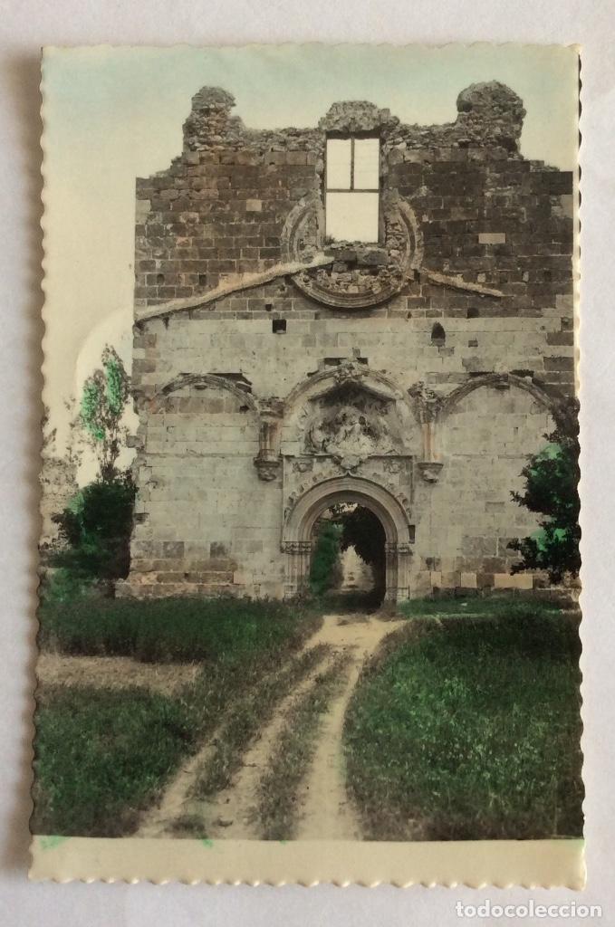 Postal Fotografica Coloreada Ruinas Cartuja Vall De Cristo Portada San Martin Altura Castellon
