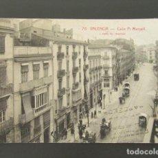 Cartes Postales: POSTAL VALENCIA. CALLE PI MARGALL. ROISIN. CIRCULADA. . Lote 99958139