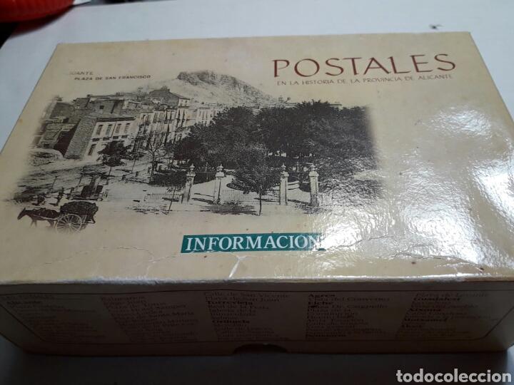 POSTALES EN LA HISTORIA DE LA PROVINCIA DE ALICANTE EN CAJA ORIGINAL (Postales - España - Comunidad Valenciana Antigua (hasta 1939))
