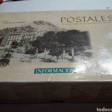 Postales: POSTALES EN LA HISTORIA DE LA PROVINCIA DE ALICANTE EN CAJA ORIGINAL. Lote 100467812