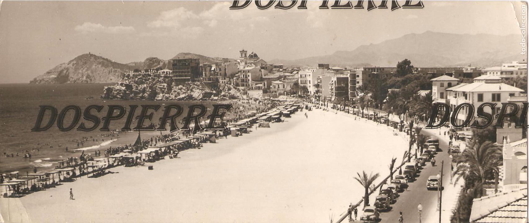 POSTAL, BENIDORM, ALICANTE, VISTA PANORÁMICA, SIN CIRCULAR, 24X10 (Postales - España - Comunidad Valenciana Moderna (desde 1940))