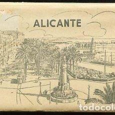 Postales: ALICANTE BLOC DESPLEGABLE COMPLETO CON 10 POSTALES . ED. GARCIA GARRABELLA. Lote 100756687
