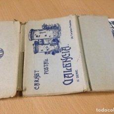 Postales: ANTIGUAS POSTALES CARNET POSTAL VALENCIA III SÈRIE JDP TACO BLOC. Lote 101048411