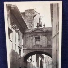 Postales: 1243 VALENCIA CALLE DE LA BARCHILLA Y PUERTA BIZANTINA DE LA CATEDRAL UNIQUE ED. Lote 101151875
