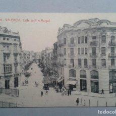 Postales: VALENCIA. CALLE DE PI Y MARGALL. ANIMADA.. Lote 102518371
