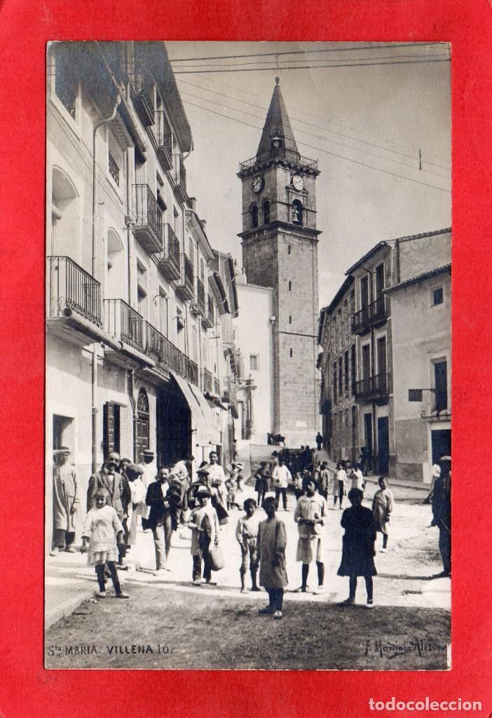VILLENA. SANTA MARIA. FOTOGRÁFICA (Postales - España - Comunidad Valenciana Antigua (hasta 1939))