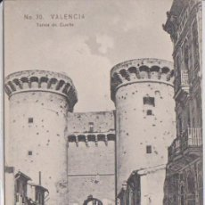 Postales: VALENCIA - TORRES DE CUARTE. Lote 103252503