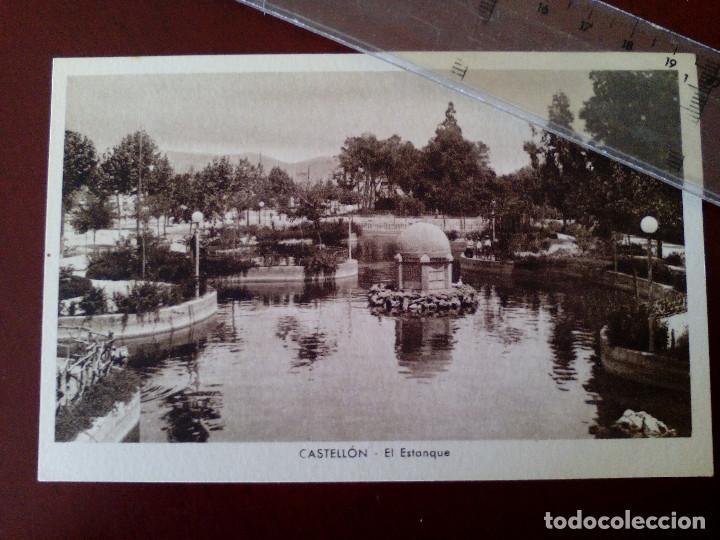 ANTIGUA TARJETA POSTAL - CASTELLON - EL ESTANQUE - EDICION ARMENGOT - (Postales - España - Comunidad Valenciana Antigua (hasta 1939))