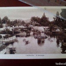 Postales: ANTIGUA TARJETA POSTAL - CASTELLON - EL ESTANQUE - EDICION ARMENGOT -. Lote 103655111