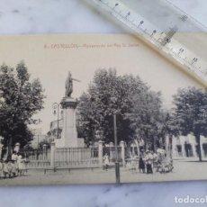 Postales: ANTIGUA TARJETA POSTAL Nº 6 - CASTELLON - MONUMENTO DEL REY D.JAIME - ED.HIJOS DE ARMENGOT. Lote 103655503
